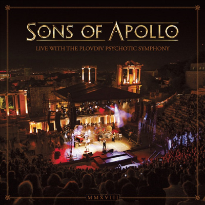 Sons Of Apollo - Live With The Plovdiv Psychotic Symphony (3CD+DVD+Blu-ray)(Digipack)