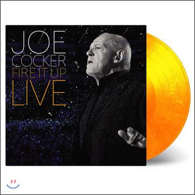 Joe Cocker (조 카커) - Fire It Up (Live) [레드 & 오렌지 컬러 3LP]