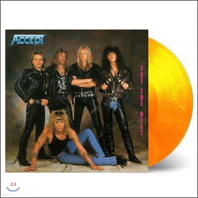 Accept (억셉트) - Eat The Heat [옐로우 & 오렌지 컬러 LP]