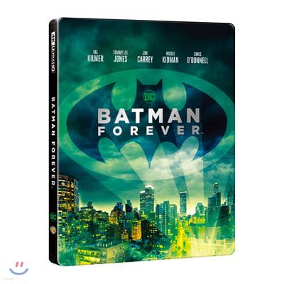배트맨 포에버 (2 Disc 4K UHD 스틸북, 한정수량) : 블루레이