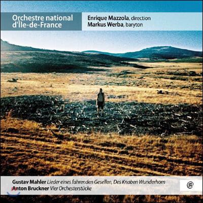Markus Werba 말러: 방랑하는 젊은이의 노래 / 브루크너: 4개의 관현악곡 (Mahler: Lieder eines fahrenden Gesellen, Des Knaben Wunderhorn)