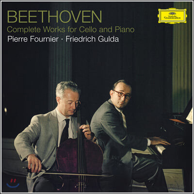Pierre Fournier / Friedrich Gulda 베토벤: 첼로 소나타 전곡집 (Beethoven: Complete Works for Cello and Piano) [3LP]