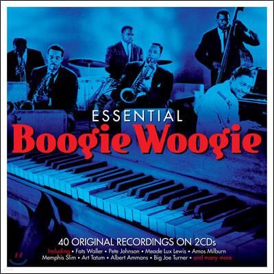 부기우기 명곡집 (Essential Boogie Woogie)