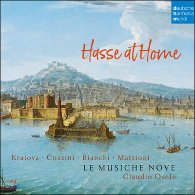 Claudio Osele 아돌프 하세: 칸타타와 소나타 (Adolph Hasse: Cantatas and Sonatas)