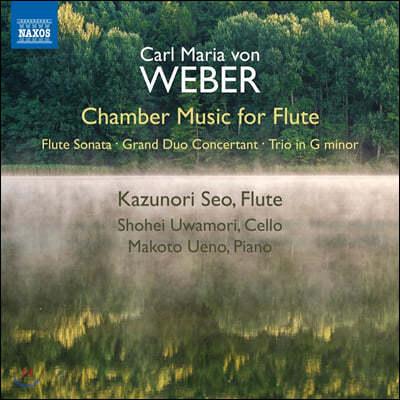 Kazunori Seo 베버: 플루트를 위한 실내악 작품집 (Weber: Chamber Music for Flute)