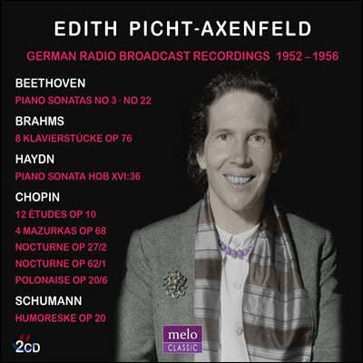 Edith Picht-Axenfeld 독일 방송 레코딩 1952-1956 (German Radio Broadcast Recordings 1952-56)