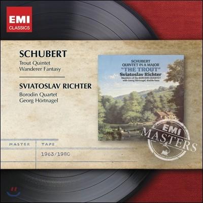 Sviatoslav Richter / Borodin Quartet 슈베르트: 송어 오중주, 환상곡 (Schubert: Trout Quintet) 리히테르, 보로딘 사중주단