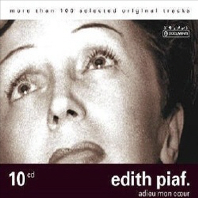 Edith Piaf - Adieu Mon Coeur (10CD Wallet Box Set)
