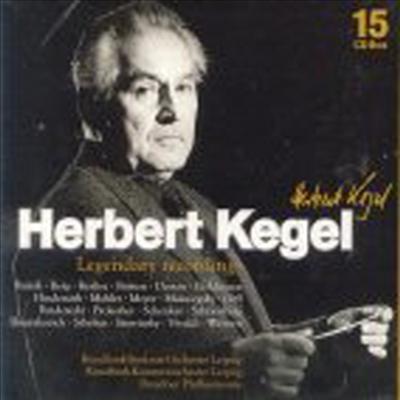 헤르베르트 케겔 - 전설적인 레코딩 컬렉션 (Herbert Kegel - Legendary Recording) (15 For 3) - Herbert Kegel