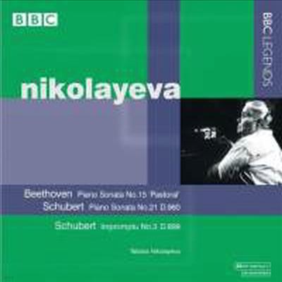 베토벤 : 피아노 소나타 15번 Op.28 '전원' & 슈베르트 : 피아노 소나타 21번 D.960, 즉흥곡 3번 D.899 - Tatiana Nikolayeva