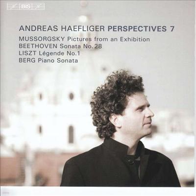 퍼스펙티브 7 - 베토벤: 피아노 소나타 28번 & 무소르그스키: 전람회의 그림 (Perspectives 7 - Beethoven: Piano Sonata No.28 & Mussorgsky: Pictures At An Exhibition) (SACD Hybrid) - Andreas Haefliger