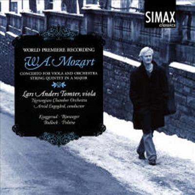 모차르트: 클라리넷 협주곡, 클라리넷 오중주 (요한 안드레 출판 비올라용 편곡 버전, 세계최초 녹음) (Mozart: Clarinet Concerto K 622, Clarinet Quintet K 581 (arr. for Viola) - Arvid Engegard