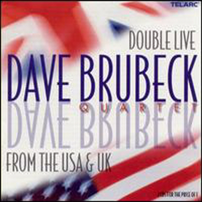 Dave Brubeck Quartet - Double Live from the U.S.A. and U.K. (2CD)