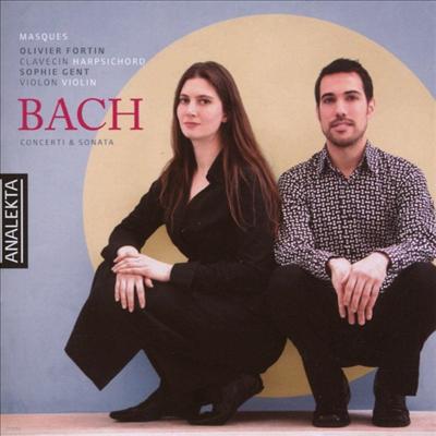 바흐: 하프시코드 협주곡 1, 5번, 이탈리아 협주곡, 바이올린 소나타 2번 (Bach: Harpsichord Concertos No.1 BWV 1052, No.5 BWV 1056, Italian Concerto BWV 971, Sonata for Violin & Harpsichord No.2 BWV 1015)