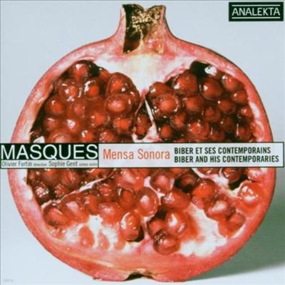 음악의 테이블 - 비버와 동시대 음악인들 (Mensa Sonora - Biber And His Contemporaries)(CD) - Sophie Gent