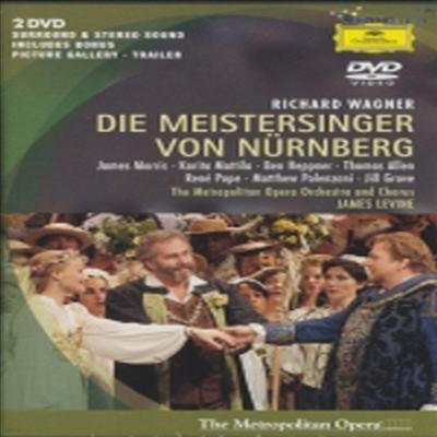 바그너 : 뉘른베르크의 명가수 (Wagner : Die Meistersinger Von Nurnberg) (한글무자막)(2DVD)(DVD) - Ben Heppner