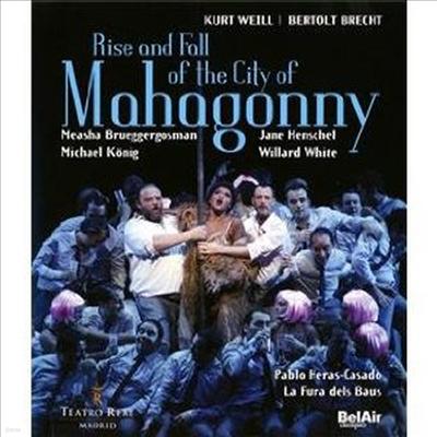 바일 : 마하고니 시의 흥망성쇠 (Weill : Aufstieg und Fall der Stadt Mahagonny) (한글무자막)(Blu-ray)(2011) - Pablo Heras-Casado