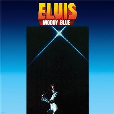 Elvis Presley - Moody Blue (Ltd. Anniversary Edition)(Gatefold Blue Vinyl)(180G)(LP)
