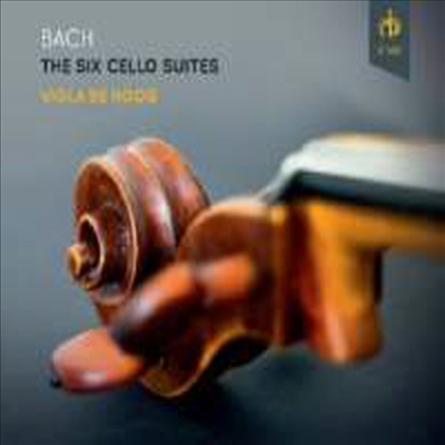 바흐: 첼로 모음곡 1번 - 6번 전곡 (Bach: Complete Cello Suites Nos.1 - 6) (2CD) - Viola De Hoog