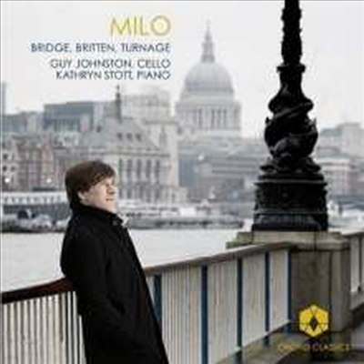 브릿지, 브리튼 & 터니지: 첼로와 피아노를 위한 작품집 (Bridge, Britten & Turnage: Works for Cello & Piano) - Guy Johnston