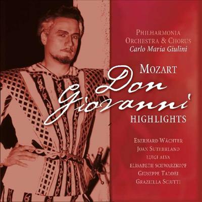 모차르트: 오페라 '돈 지오반니' - 하이라이트 (Mozart: Opera 'Don Giovanni' - Highlight) (180g)(LP) - Carlo Maria Giulini