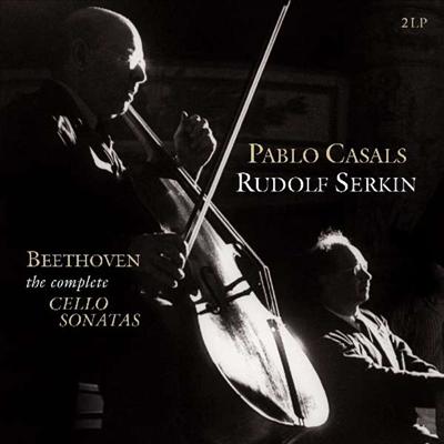 베토벤: 첼로 소나타 1번 - 5번 전곡 (Beethoven: Complete Cello Sonatas Nos.1 - 5) (180g)(2LP) - Pablo Casals