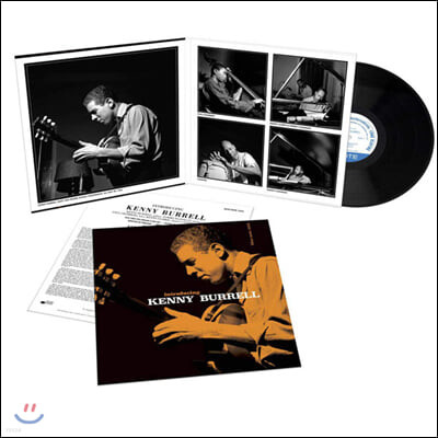 Kenny Burrell (케니 버렐) - Introducing Kenny Burrell [LP]