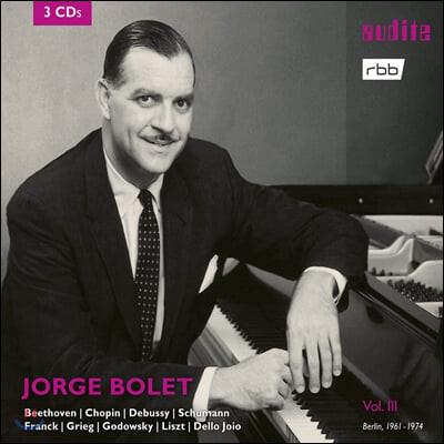 Jorge Bolet 호르헤 볼레 RIAS 레코딩 3집 (Berlin Radio Recordings Vol. 3)