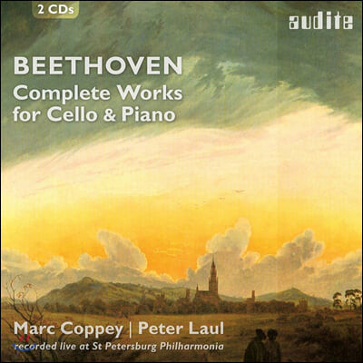 Marc Coppey / Peter Laul 베토벤: 첼로와 피아노를 위한 작품 전집 (Beethoven: Complete Works for Cello and Piano)