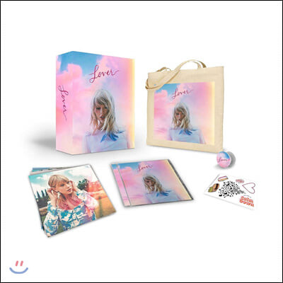 Taylor Swift (테일러 스위프트) - 7집 Lover [CD+ Bag Limited Box Set]