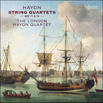 London Haydn Quartet 하이든: 현악 4중주, 아포니 4중주 (Haydn: String Quartets Opp 71, 74)