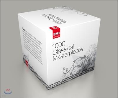 클래식 걸작 1000곡 박스세트 (1000 Classical Masterpieces)