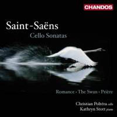 생상스 : 첼로 소나타 1, 2번 & 첼로 소품집 (Saint-Saens : Cello Sonatas Nos. 1 & 2) - Christian Poltera