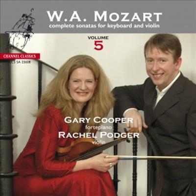 모차르트: 바이올린 소나타 5집 (Mozart: Complete Sonatas for Keyboard and Violin, Vol. 5 - K.305, K.403, K.31, K.29, K.306) (SACD Hybrid) - Rachel Podger
