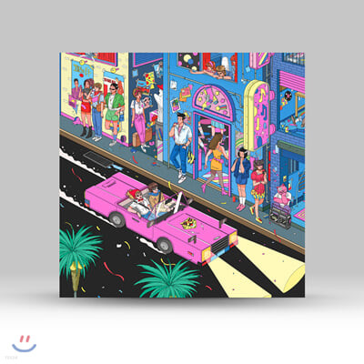 동아기획 쿨사운드 모음집 (Our Town: Jazz Fusion, Funky Pop & Bossa Gayo Tracks from Dong-A Records) [투명 블루 컬러 LP]
