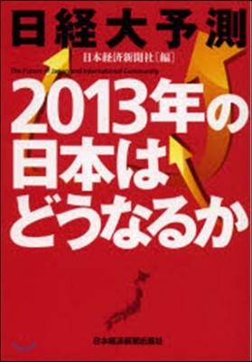 日經大予測 2013年の日本はどうなるか
