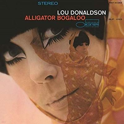 [중고 LP] Lou Donaldson - Alligator Bogaloo (US 수입)