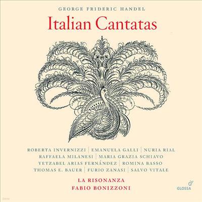 헨델: 이탈리아 칸타타 (Handel: Italian Cantatas) (7CD Boxset) - Fabio Bonizzoni