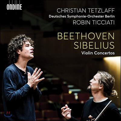 Christian Tetzlaff 베토벤 / 시벨리우스: 바이올린 협주곡 (Beethoven / Sibelius: Violin Concertos)