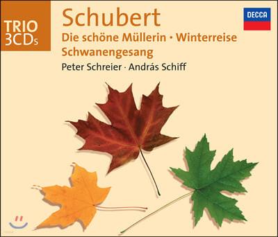 Peter Schreier / Andras Schiff 슈베르트: 연가곡집 - 아름다운 물방앗간 아가씨, 겨울 나그네, 백조의 노래