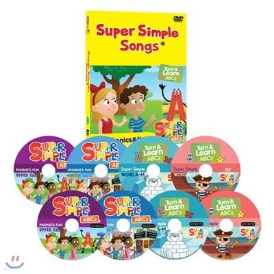 슈퍼심플송 SUPER SIMPLE SONG ABC Phonics & WORD 8종세트(영어대본 온라인제공)유아영어 초등영어