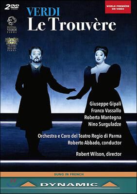 Roberto Abbado 베르디: 오페라 '르 트루베르' (Verdi: Le Trouvere)