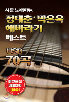 [USB] 시를 노래하는 정태춘 박은옥 해바라기 베스트 70곡