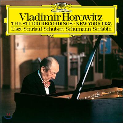블라디미르 호로비츠 1985년 뉴욕 스튜디오 레코딩 (Vladimir Horowitz - The Studio Recordings, New York 1985) [LP]
