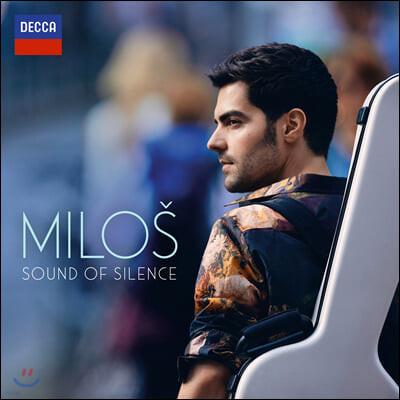 Milos Karadaglic 기타로 연주한 팝 명곡 모음집 - 밀로스 (The Sound of Silence) [LP]