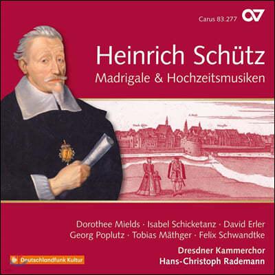 Dorothee Mields 하인리히 쉬츠: 마드리갈과 결혼 음악 (Heinrich Schutz: Madrigale and Hochzeitmusiken)