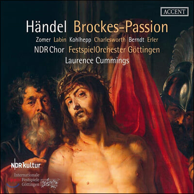 Laurence Cummings 헨델: 브로케스 수난곡 (Handel: Brockes-Passion)