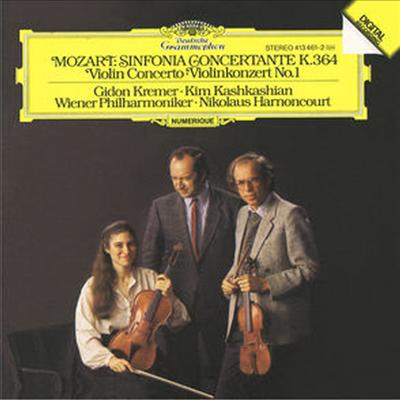 모차르트 : 합주 교향곡 작품364, 바이올린 협주곡 1번 (Mozart : Sinfonia Concertante, K.364, Violin Concerto No. 1 K.207) (CD-R) - Kim Kashkashian
