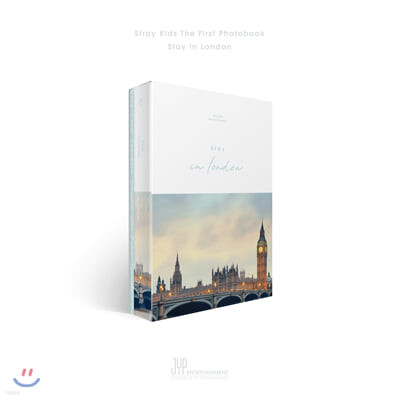 스트레이 키즈 (Stray kids) - Stray kids First Photobook [Stay in London]