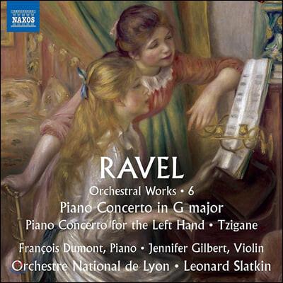 Leonard Slatkin 라벨: 관현악 작품 6집 - 피아노 협주곡, 치간느 (Ravel: Piano Concerto, Tzigane)
